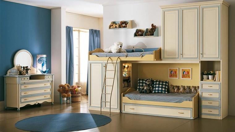 Decoraci n habitaciones infantiles con dise os inspiradores - Muebles infantiles diseno ...
