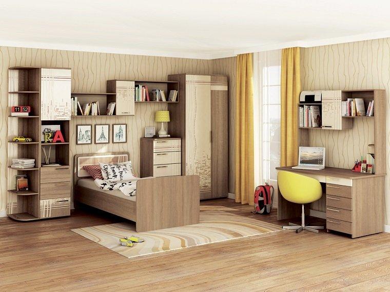 decoracion habitaciones infantiles muebles madera ideas