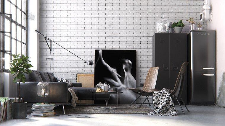 decoración idustrial salon Anthony Kalambet ideas