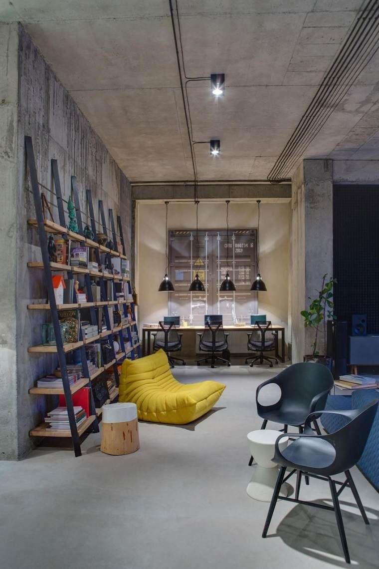 decoracion industrial apartamento Sergey Makhno ideas