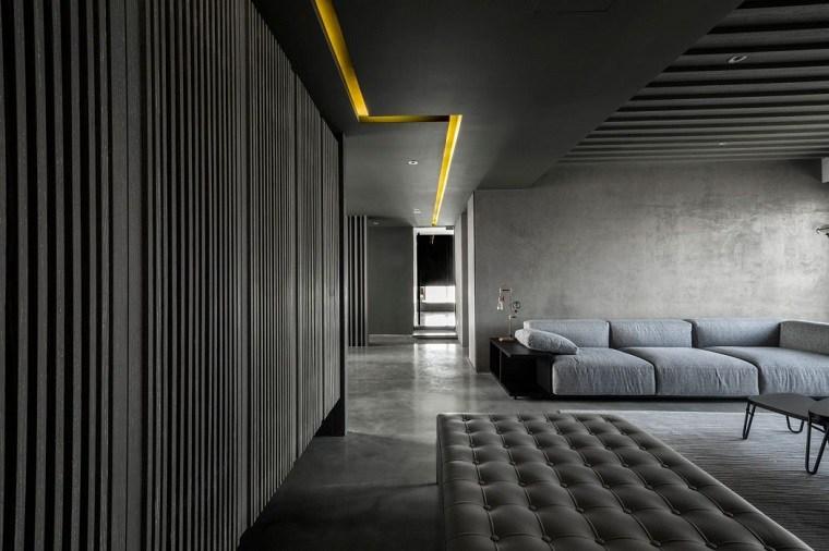 decoracion industrial apartamento amplio wei yi international ideas