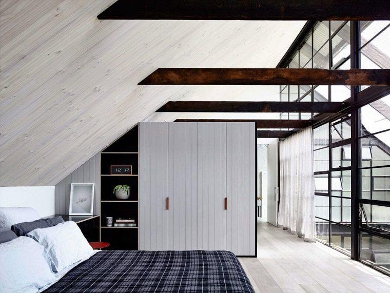 decoración industrial dormitorio Architects EAT ideas
