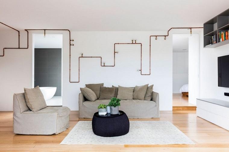 decoración industrial salon diseno josephine hurley architecture ideas