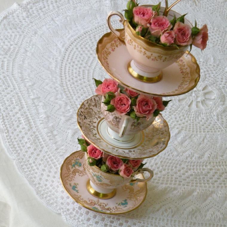 decoración mesa original