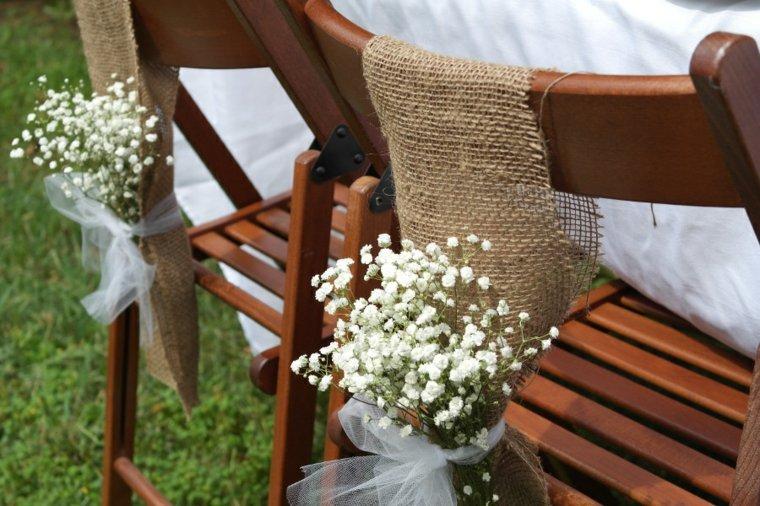 decoración mesa rústica sillas