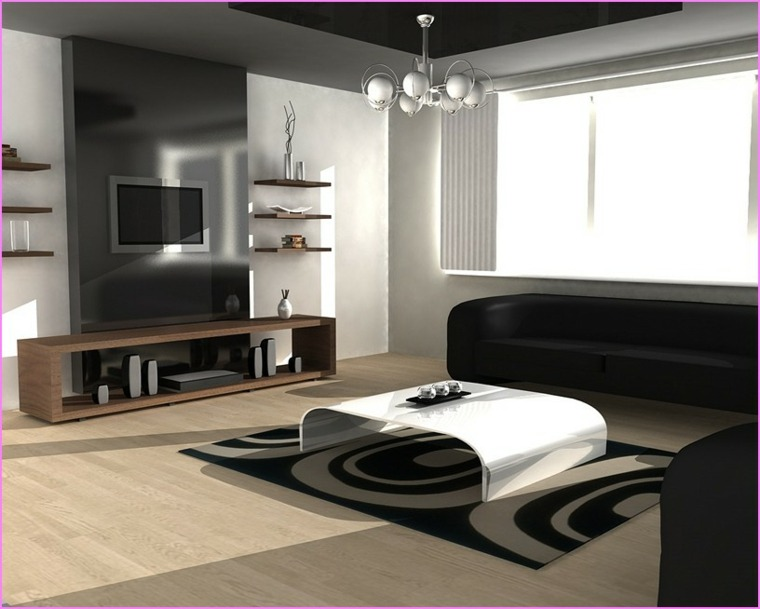 decoración mueble salón elegante