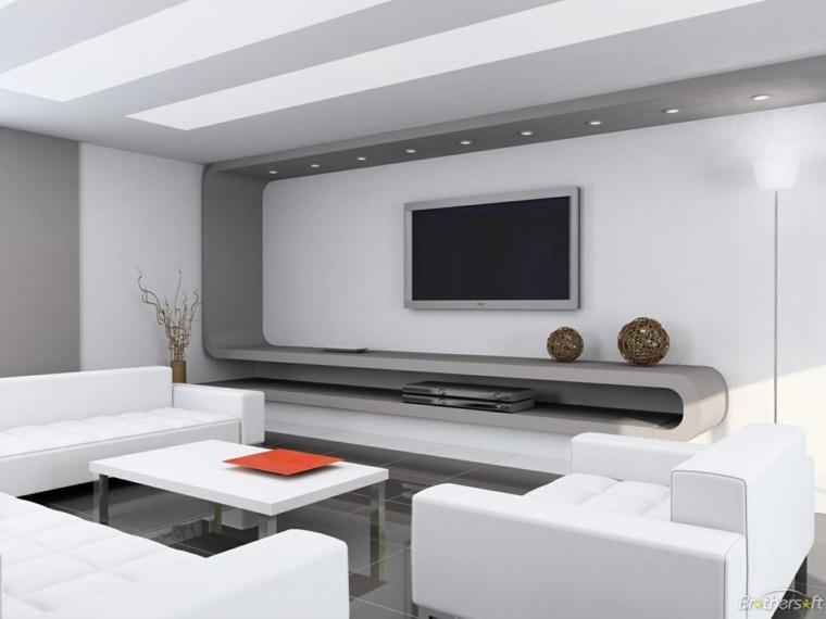 decoración mueble salón sofás