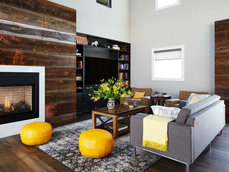 decoracion muebles salon partes especiales amarillo