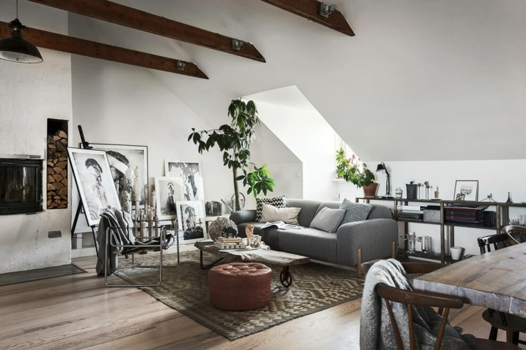 decoración nórdica apartamento diseno Scandinavian Homes ideas