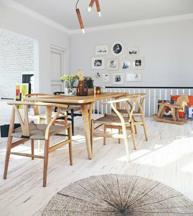 decoración nórdica apartamento diseno comedor Image Box Studios idea