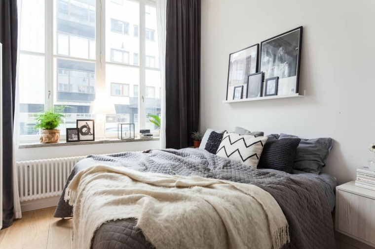 decoración nórdica apartamento diseno dormitorio Estocolmo Stylingbolaget ideas