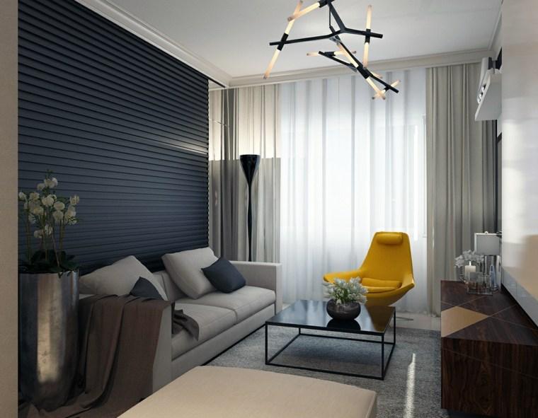 decoración salón apartamento pequeno Katya Baryshnikova ideas