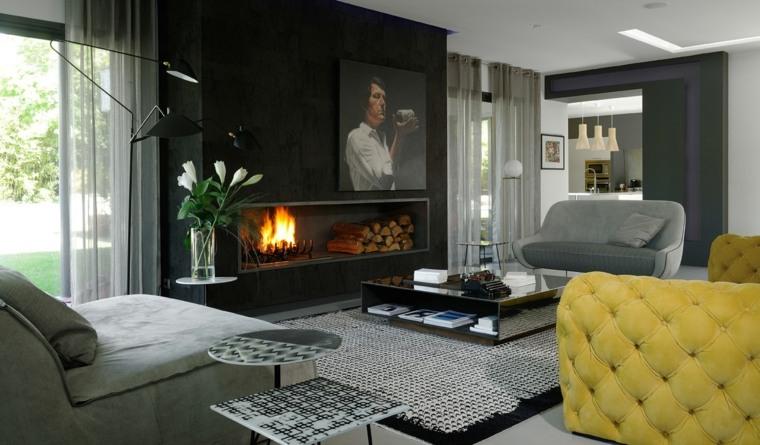 Decoración salón y diseños para inspirarate a transformar la sala ...