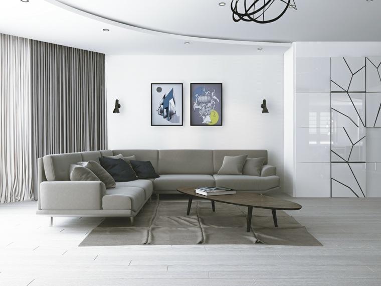 Decoraci n sal n y dise os para inspirarate a transformar - Diseno salon moderno ...