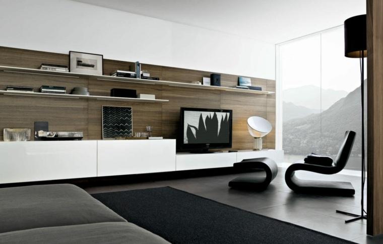 decoración salones modernos elegantes