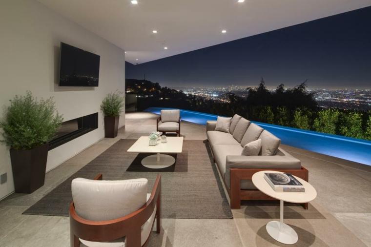 decoracion terraza conceptos paredes bordes