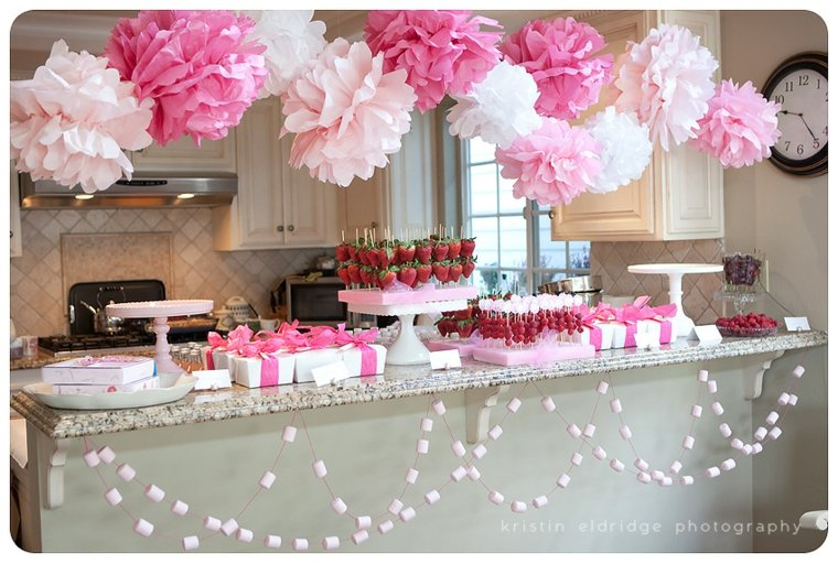 Decoracion Baby Shower Niña 24 Ideas Estupendas