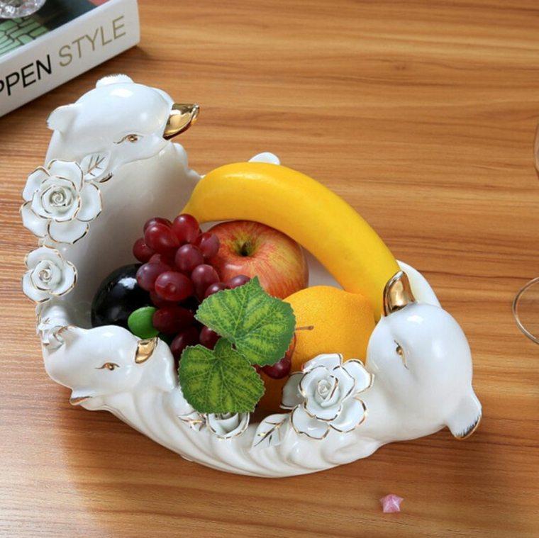 decoraciones con frutas interior