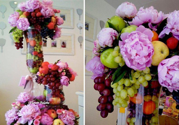 decoraciones con frutas