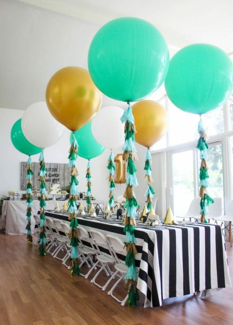 Adornos con globos ideas geniales para decorar una fiesta for Mesas de centro black friday
