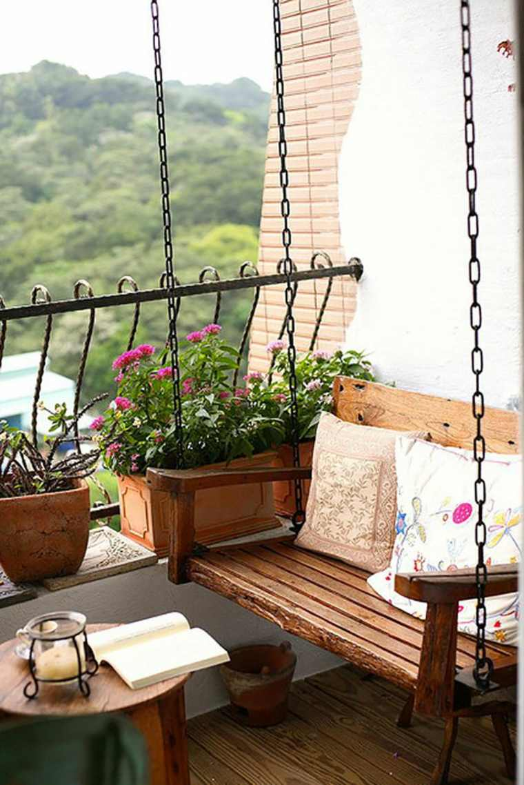 Decorar Balcon Peque 241 O Chill Out 50 Ideas Creativas