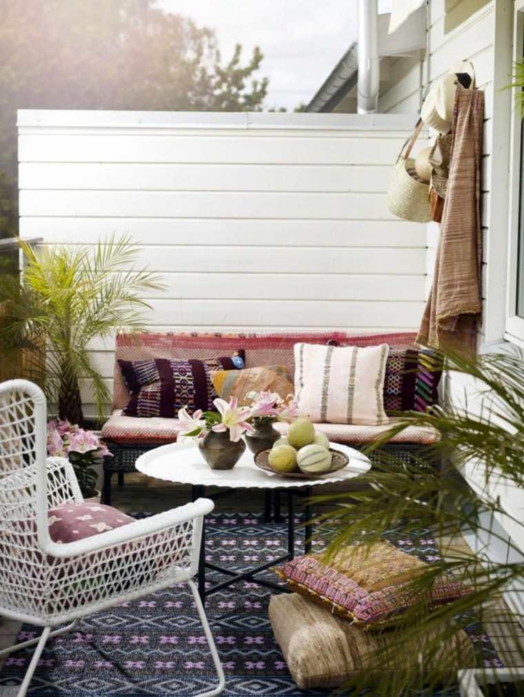 decorar balcon pequeño chill out exteriores espacios estrechos ideas