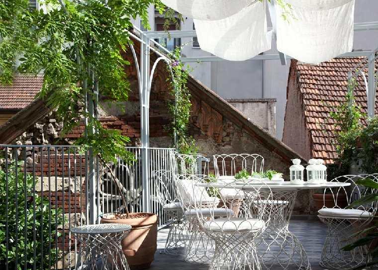 decorar balcon pequeño chill out exteriores muebles bellos ideas