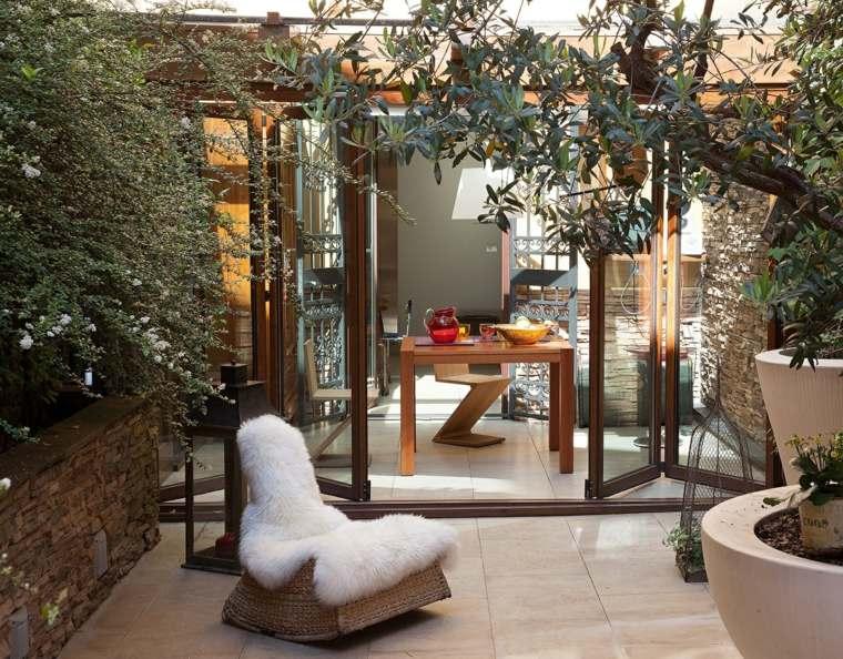 decorar balcon pequeño chill out exteriores sillon estilo ideas