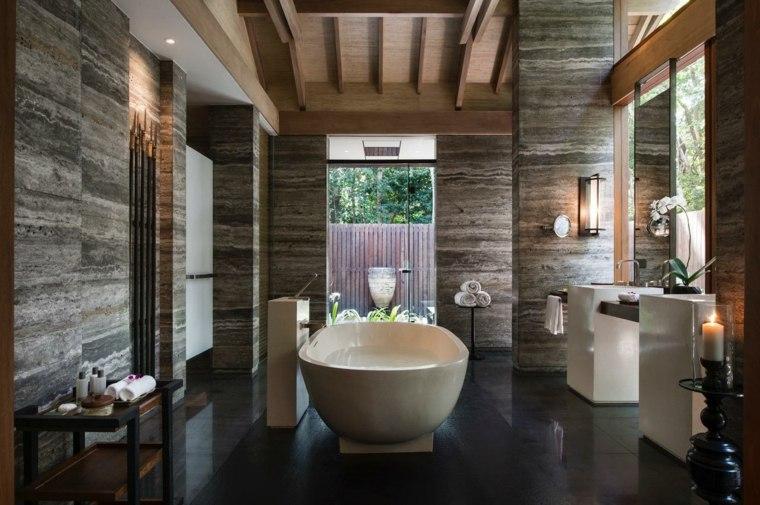 decorar baño antiguo elegante
