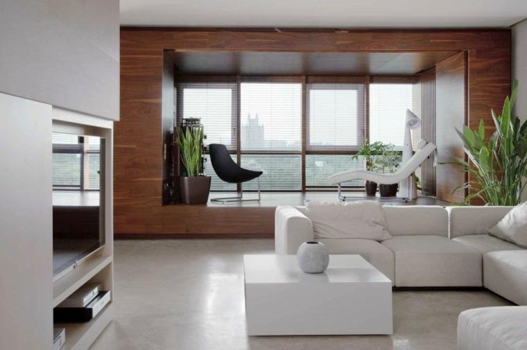 Decorar sala de estar de forma moderna y alegre -