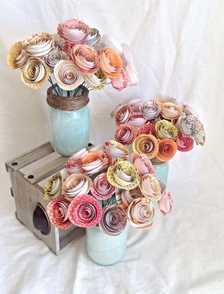 Decorar mesa con flores y otros detalles decorativos - Detalles para decorar ...