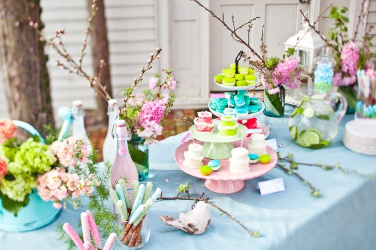 decorar mesa interior