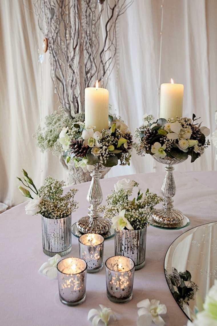 decorar mesa salón interior