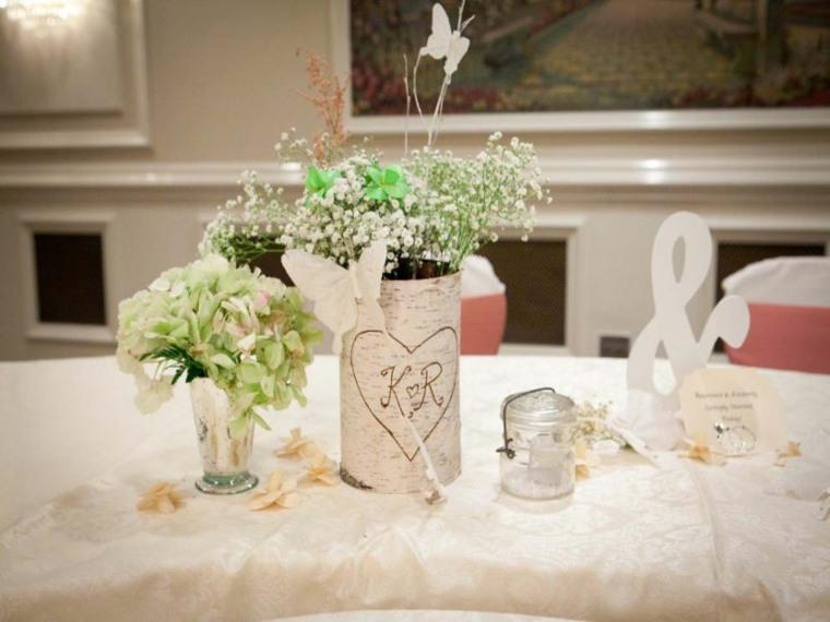 decorar mesa salón