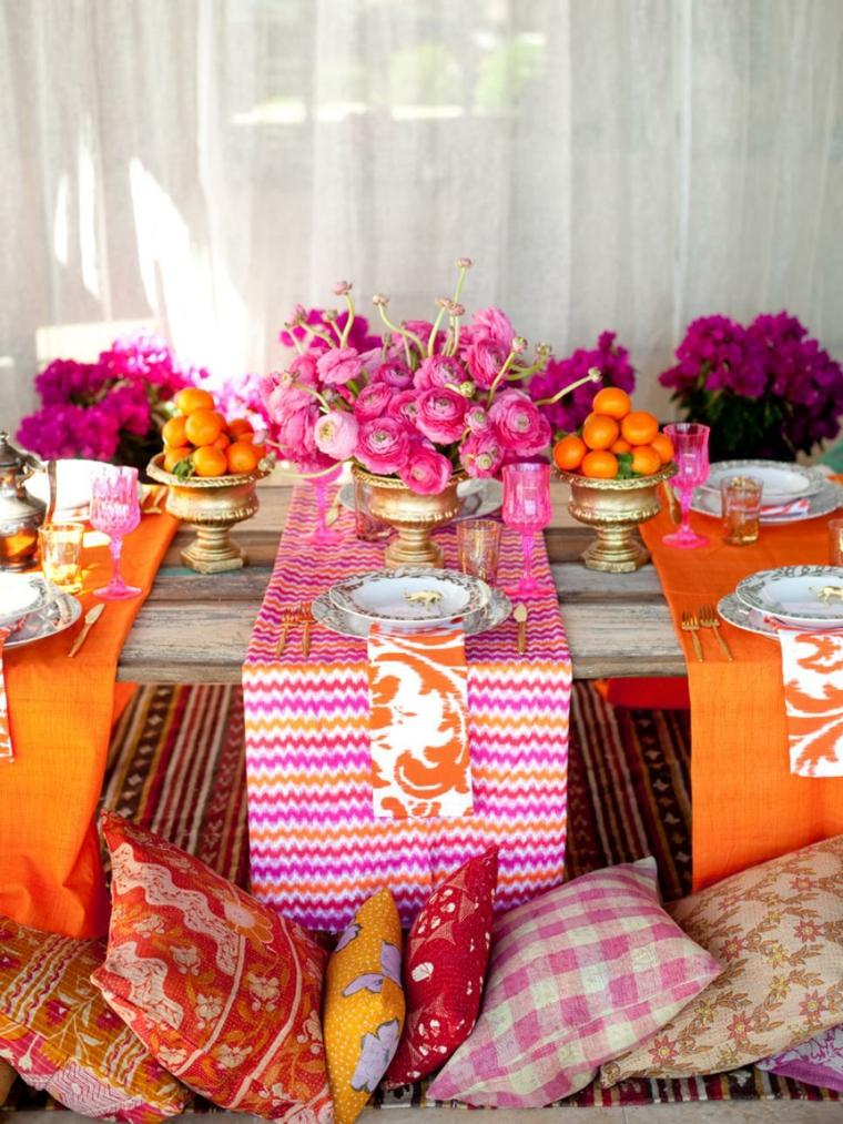 decorar mesas interior