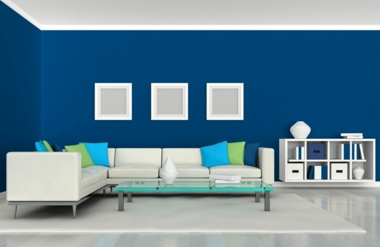 decorar paredes salón colores