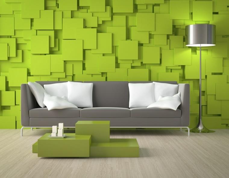 decorar paredes salón interior