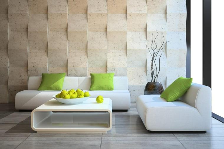 decorar paredes salón elegante