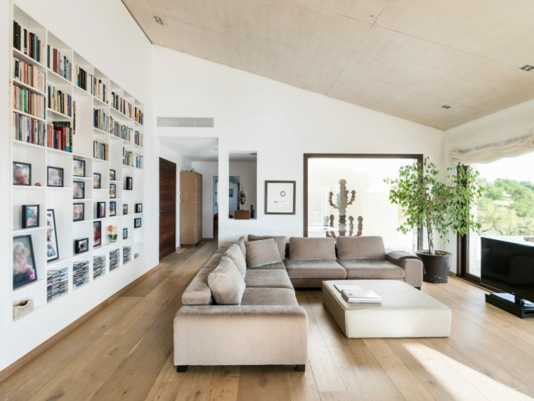decorar sala de estar moderna elegante