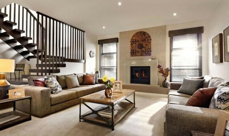 Decorar sala de estar de forma moderna y alegre