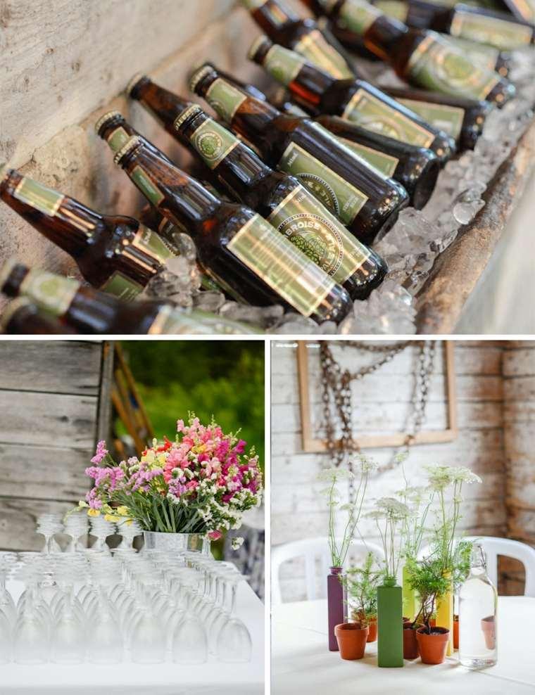decoracion sencilla boda campo