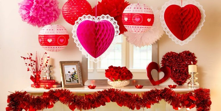 D a de san valent n una decoraci n de emociones y for Decoracion para pared san valentin