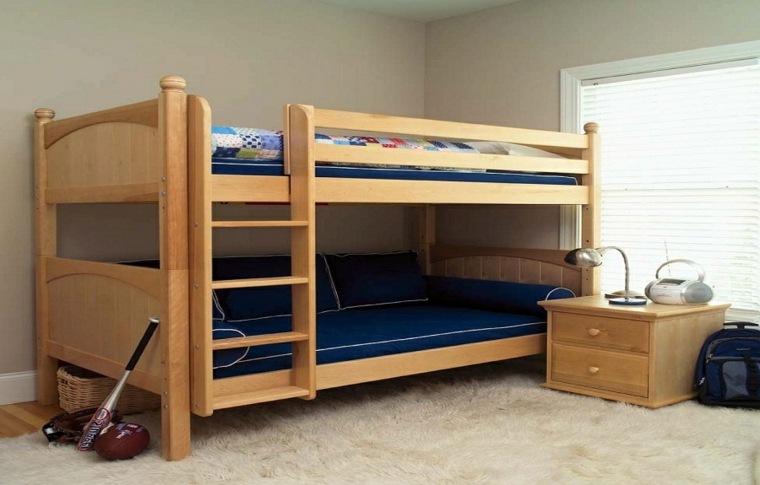 ideas diseños de camas para niños en madera