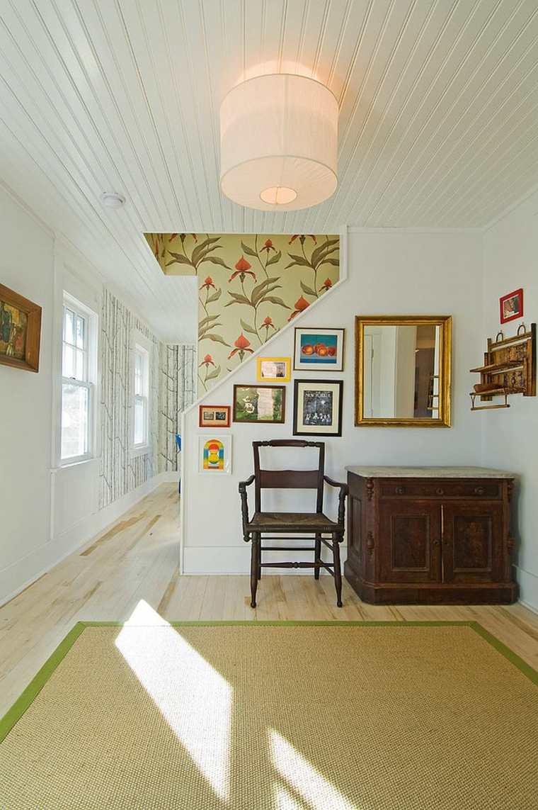 diseño original paredes pasillo