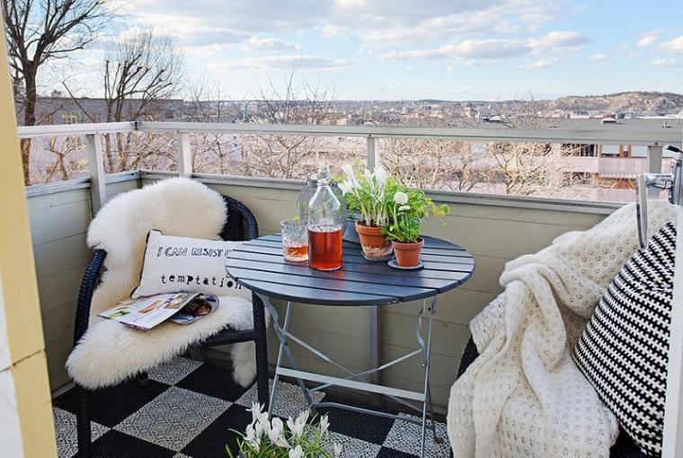 diseno balcon pequeno opciones espacios estrechos ideas