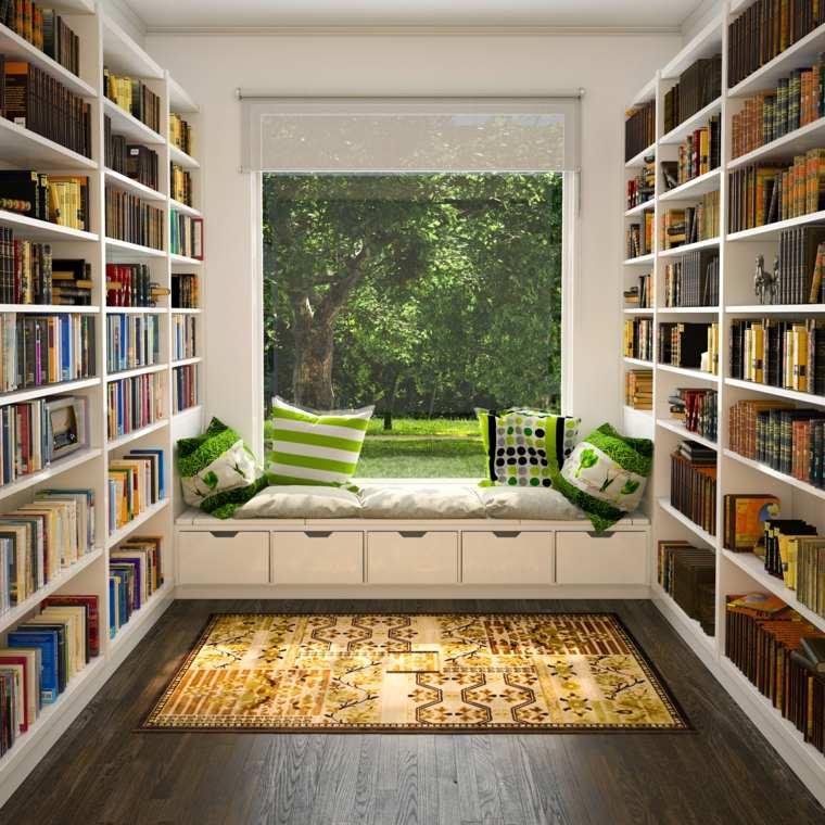 diseño biblioteca lugar lecturas