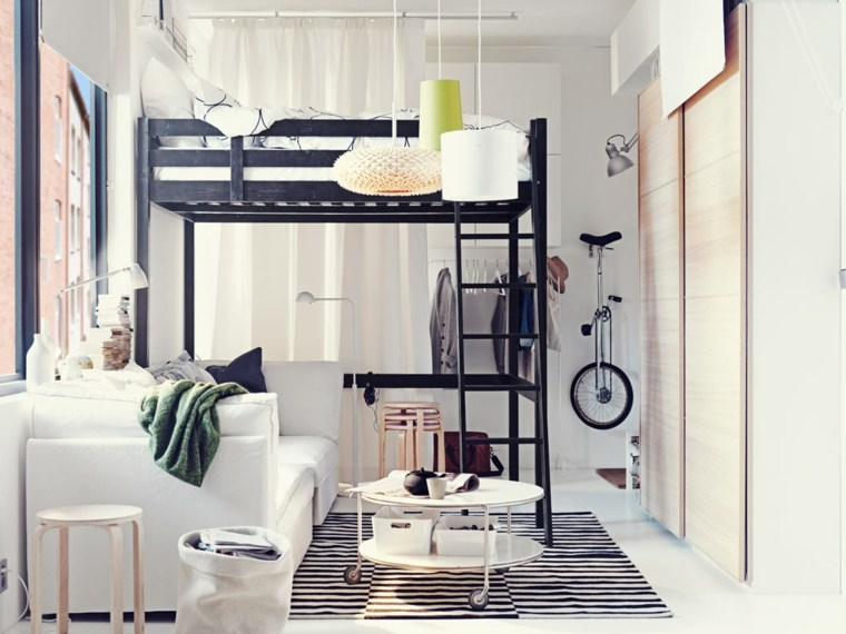 diseño estupendo loft pequeño