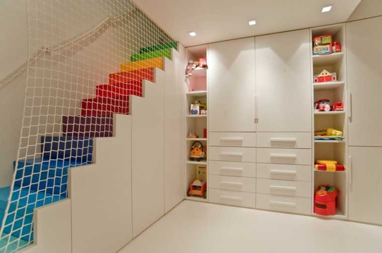 diseño estupendo cuarto infantil