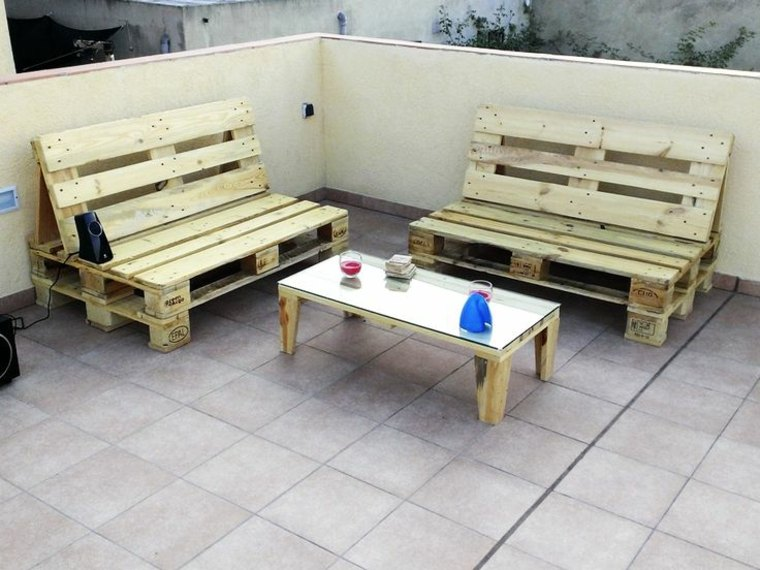 Chill out con palets dise os geniales que puedes hacer for Muebles de jardin con palet