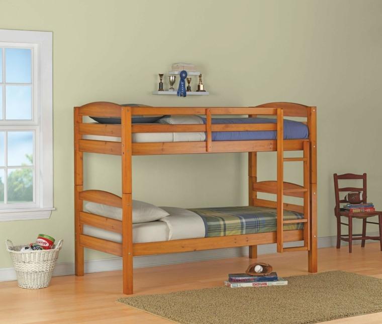 diseño cama litera sencilla